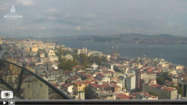 İstanbul Galata Kulesi Canlı Mobese İzle