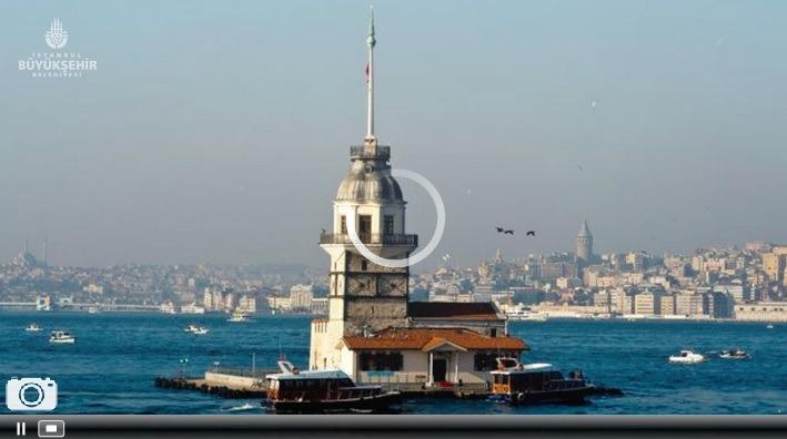 İstanbul Kız Kulesi Canlı Mobese İzle