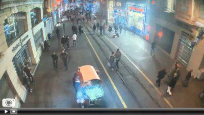 İstanbul İstiklal Caddesi 1 Canlı Mobese İzle