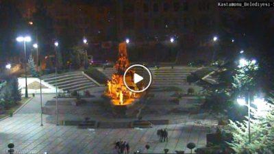 Kastamonu Cumhuriyet Meydanı Canlı Mobese Kamera İzle