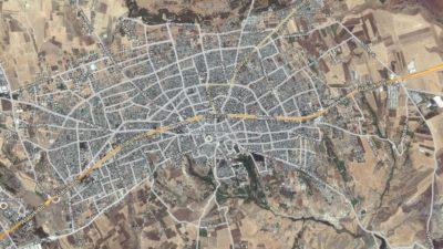 Adıyaman Uydu Görüntüsü Haritası