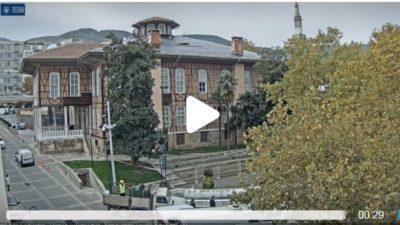 Bursa Tarihi Belediye Binası Canlı Mobese İzle