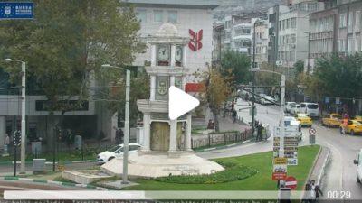 Bursa Heykel Atatürk Caddesi Canlı Mobese İzle