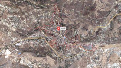 Besni Uydu Görüntüsü Haritası, Adıyaman