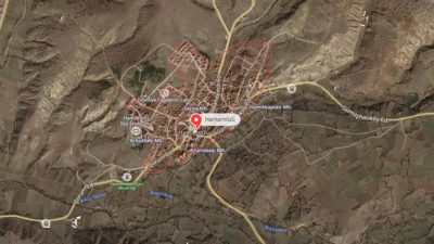 Hamamözü Uydu Görüntüsü Haritası, Amasya