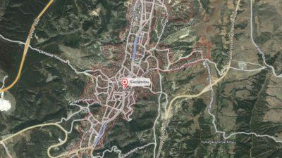 Kastamonu Uydu Görüntüsü Haritası