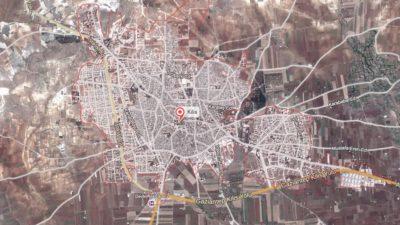 Kilis Uydu Görüntüsü Haritası