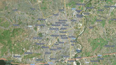 Sakarya Uydu Görüntüsü Haritası