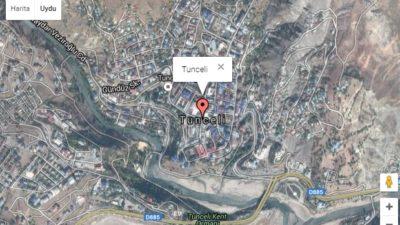 Tunceli Uydu Görüntüsü Haritası