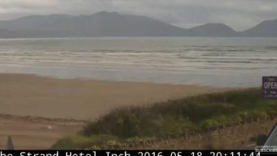 İrlanda Inch Beach Plajı Canlı İzle