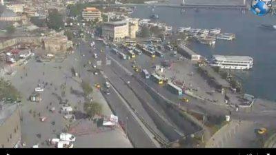İstanbul Eminönü İskelesi Canlı Mobese İzle