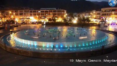 Muğla Marmaris 19 Mayıs Gençlik Meydanı Canlı İzle