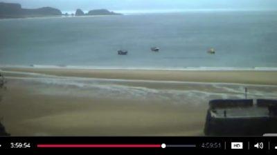 İngiltere Storm Beach Fırtına Plajı Canlı İzle