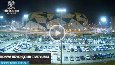 Konya Büyükşehir Stadyumu Canlı Mobese İzle