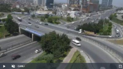 İstanbul D100 Cevizli Canlı Mobese İzle