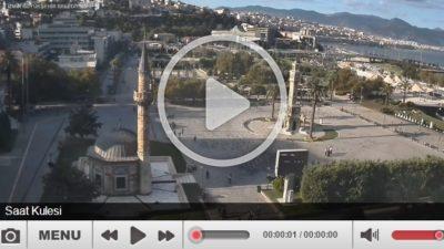İzmir Saat Kulesi Canlı Mobese İzle