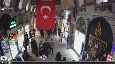 İstanbul Kapalı Çarşı Canlı Mobese Kameraları İzle