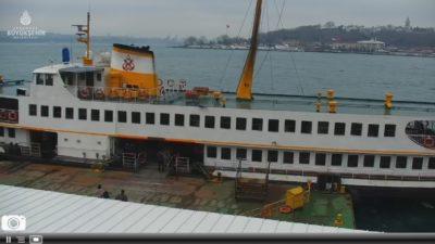 İstanbul Karaköy İskelesi Canlı Kamera İzle