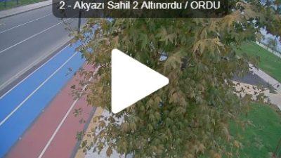 Ordu Altınordu Akyazı Sahil Yolu Canlı Kamera İzle