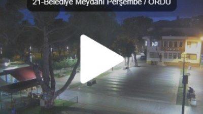 Ordu Peşembe Belediye Meydanı Canlı İzle