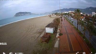 Antalya Alanya Oba Sahili Canlı İzle