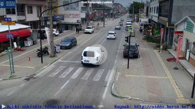 Bursa Fuat Kuşçuoğlu Caddesi Canlı Mobese