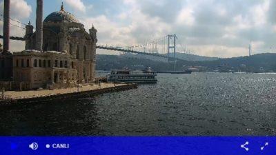 İstanbul Ortaköy Canlı Mobese Kameraları