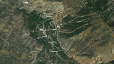Yusufeli Uydu Görüntüsü Haritası, Artvin