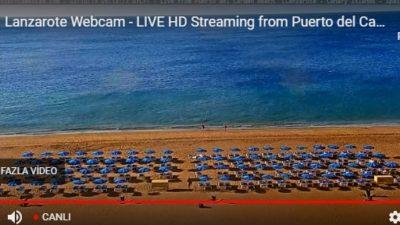 Lanzarote Plajı Canlı İzle