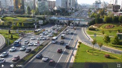 İstanbul Maltepe Köprüsü Bostancı Yönü Canlı İzle
