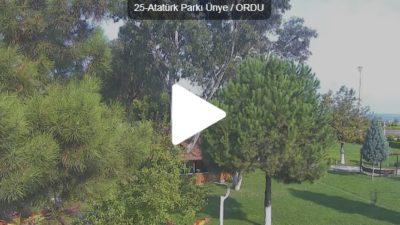Ünye Atatürk Parkı Canlı Mobese İzle