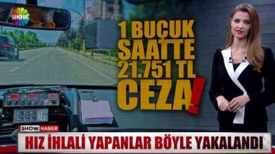 İstanbul'da Gezici Radarla 1,5 Saatte Binlerce Lira Ceza Yazıldı